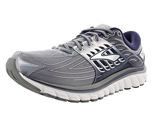 Brooks para hombre glicerina 14 - Zapatillas de running de línea de Meta - Variation, Primer Gray/Peacoat Navy/: Amazon.es: Deportes y aire libre