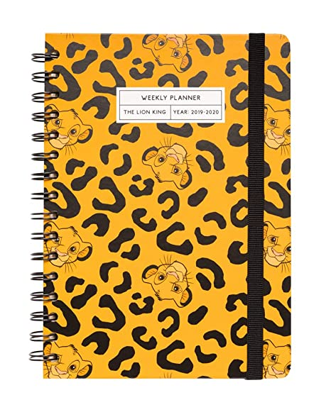 Amazon.com : The Lion King 2019-2020 Academic Diary ...