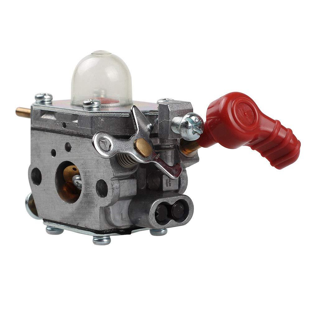 Shnile Carburetor For 27cc Weed Eater Carb MTD 753-06288 Murray MS2550 MS2560 MS9900 Gas String Trimmer Zama C1U-P27 Carb Remington RM430 41AS99MS983 41ADZ20C768 41BDZ20C768 41ADZ22C768 41BDZ22C768 41