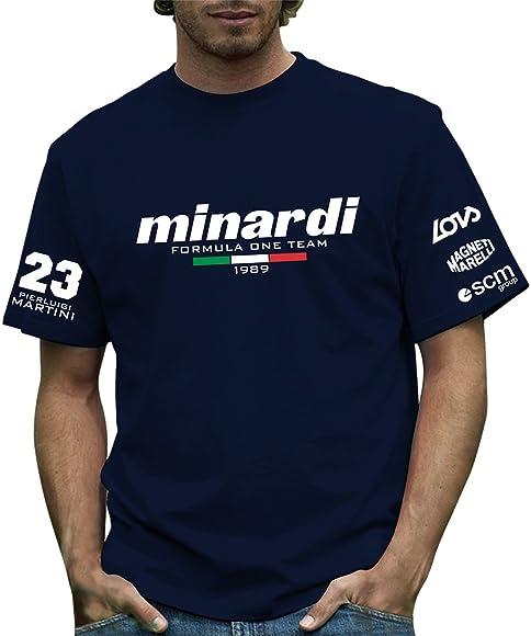 Producto oficial de 189 Minardi T-camiseta de Formula Retro 1: Amazon.es: Ropa y accesorios