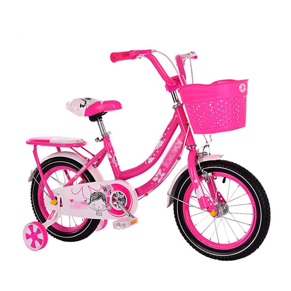 キッズ自転車 子供用 自転車 男の子 女の子 自転車 2~8歳 ベビーキャリア 自転車 アシストホイールアクセサリー付き 12 inches レッド 12 inches レッド B07JYBQN7T