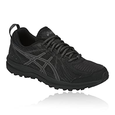 ASICS FREQUENT TRAIL - Chaussures de running - black/carbon