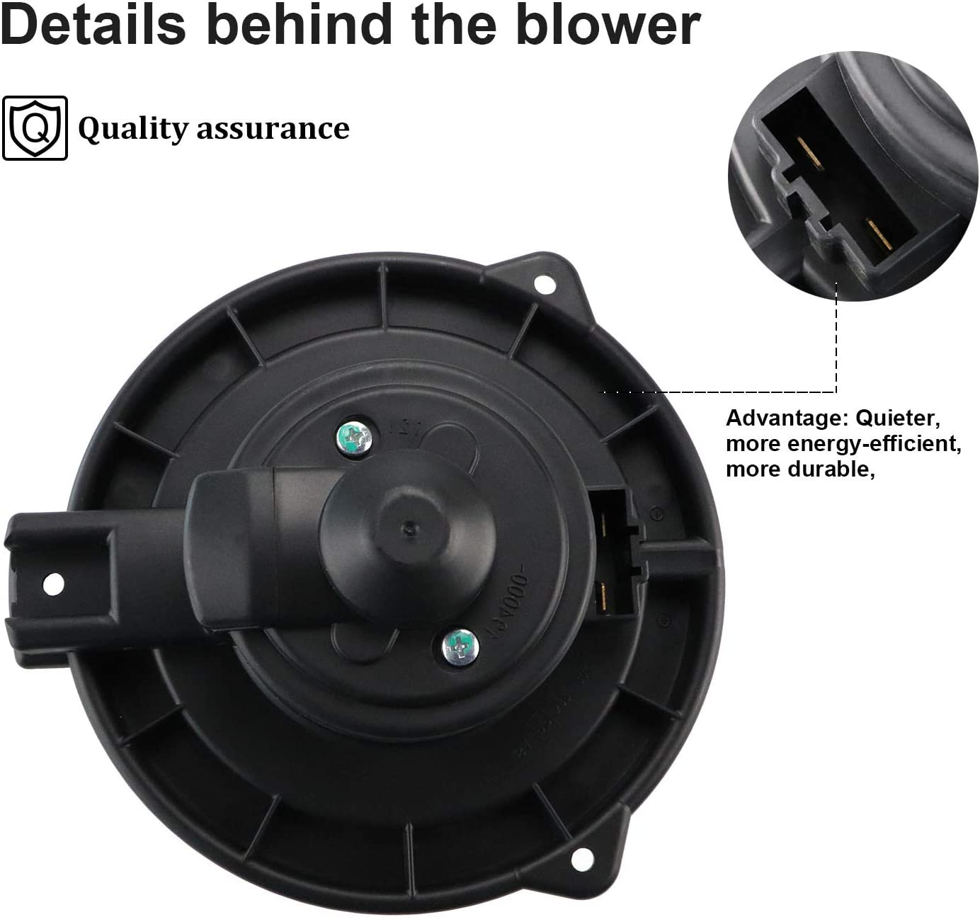 HVAC Blower Motor Assembly 700061 TO3126108 8710335022 615-58386 Heater Blower Motor with Fan Cage for 1996-2002 Toyota 4Runner