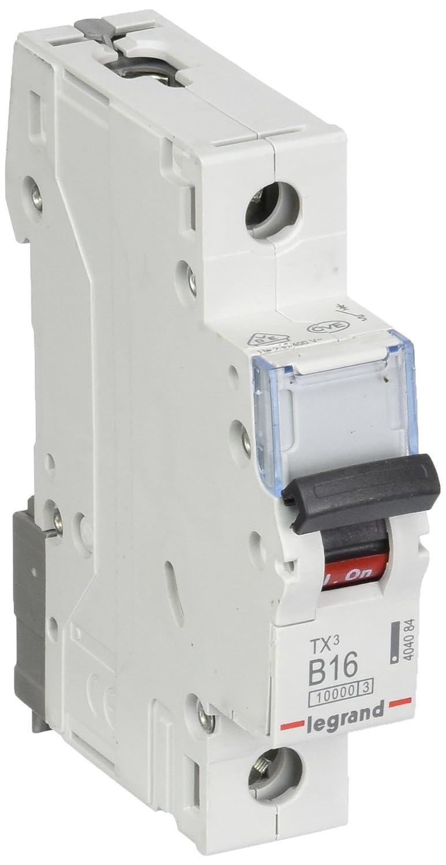 Legrand 404084/TX3/LS B16/A Disjoncteur 1P 10/KA 1/m