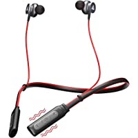 Boult Audio ProBass Curve Neckband Wireless Bluetooth in-Ear Earphones with mic (Red)