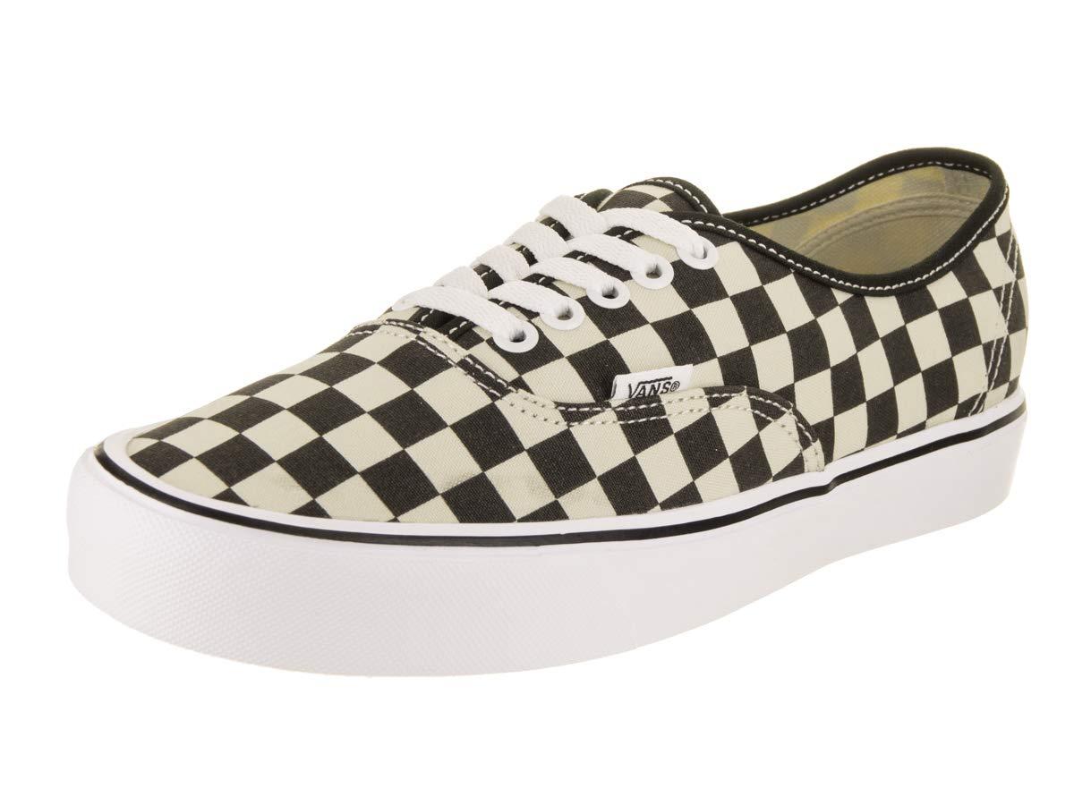 Vans Unisex Authentic Lite Checkerboard/Black/White Skate Shoe 9 Men US / 10.5 Women US