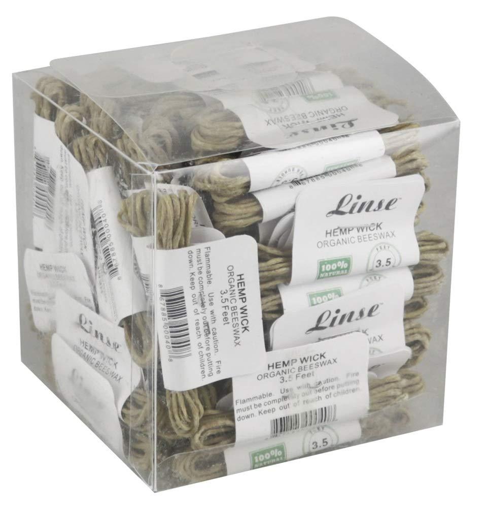 100PC Box - Linse Organic Hemp Wick - 3.5ft by Linse (Image #2)