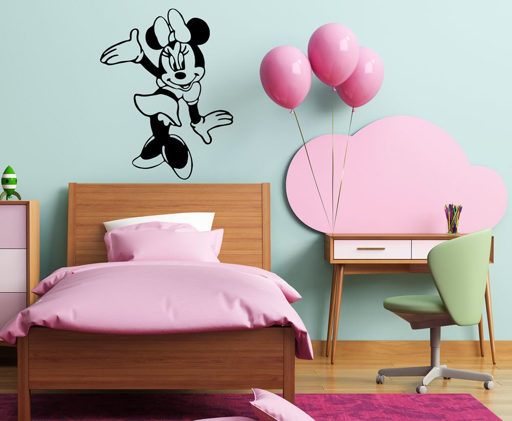 Amazon disney wall decals minnie mouse decals best selling amazon disney wall decals minnie mouse decals best selling minnie mouse wall decal black and white minnie mouse kids wall decals made in usa for amipublicfo Choice Image