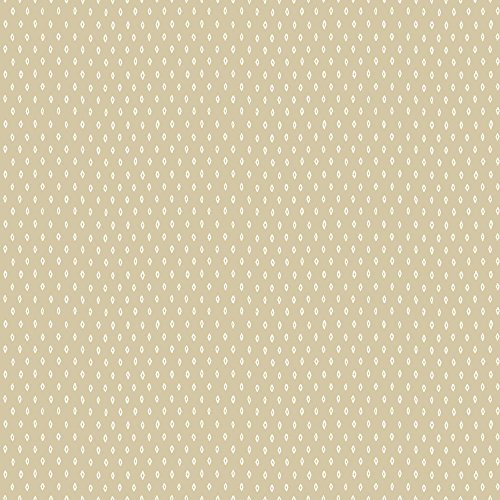 York Wallcoverings MS6417 Modern Shapes Marquise Wallpaper, Beige, White (Marquise Wallpaper)