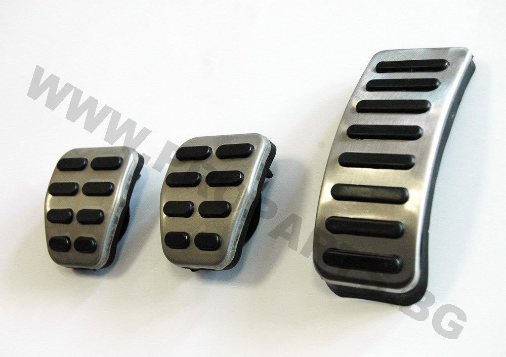 Volkswagen Golf 4 GTI R32 Skoda Audi Seat Sport Pedal tapas Juego de pedales Pedales: Amazon.es: Coche y moto