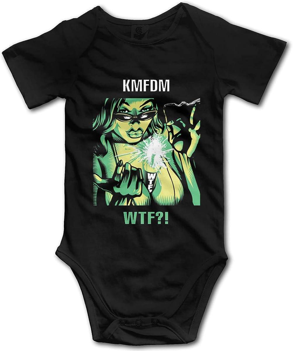 JAY GRAY KMFDM Baby Bodysuits Onesies T-Shirt Shirts Organic Baby Girls