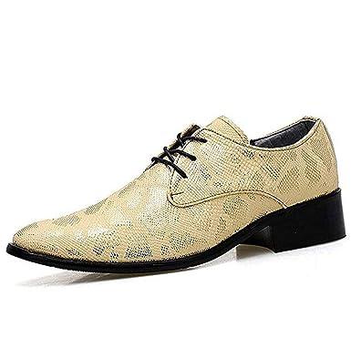 TAZAN Los Zapatos BritáNicos De Oxford Para Hombre Atados Con ...