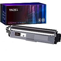 Compatible TN251 Black Toner Cartridge for Brother HL3170CDW MFC9330CDW MFC9340CDW MFC9140CDN(Black,1 Pack)