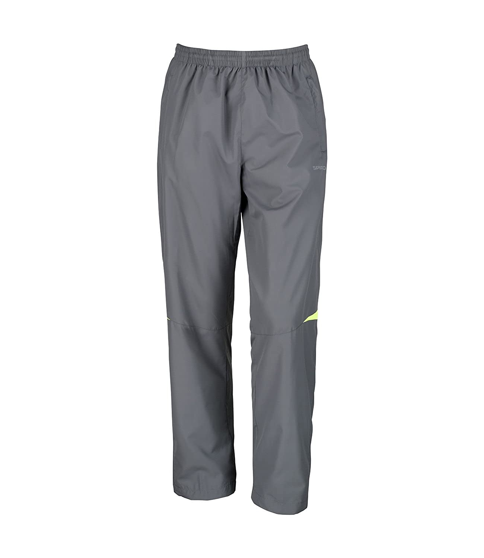 Spiro Men's Mircolite Team Running Pants Grey / Lime 32 Waist