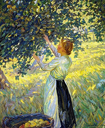 Helen Galloway McNicoll The Apple Gatherer Art Gallery of Hamilton Ontario, Canada 1911~30