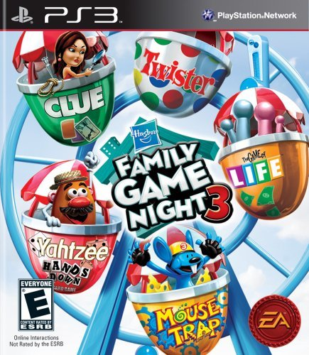 Hasbro Family Game Night 3 - Playstation 3 by Electronic Arts (Hasbro Family Game Night 3 compare prices)