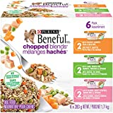 Beneful Chopped Blends Adult & Puppy Wet Dog Food Variety Pack, 283 g, Pack of 6