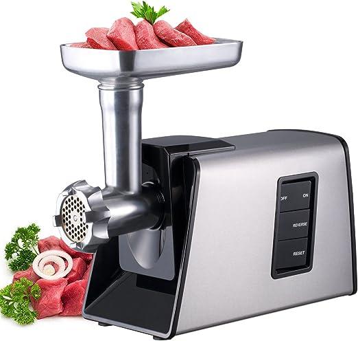 Amazon.com: Sunmile SM-G73 - Molinillo eléctrico de carne y ...
