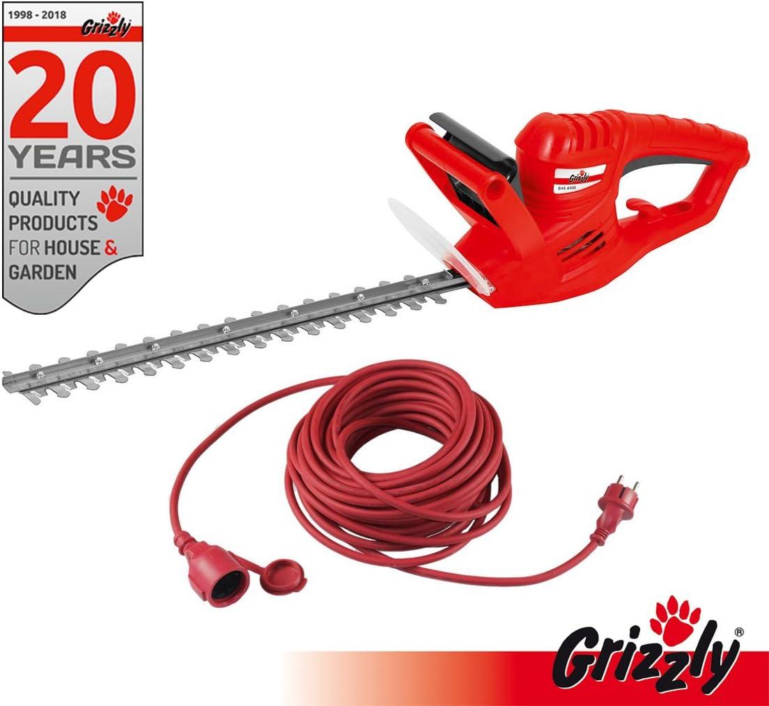 Grizzly eléctrico Cortasetos ehs 4500 Longitud de corte 41 cm 450 ...