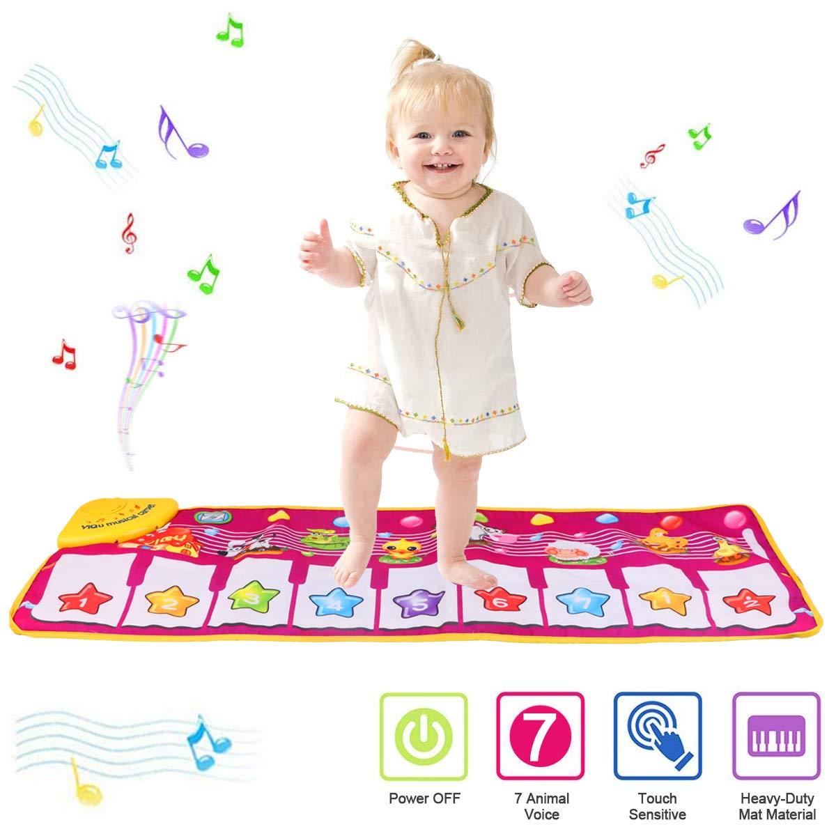 PROACC Klavier Playmat, Kinder Klaviertastatur Musik Playmat ...