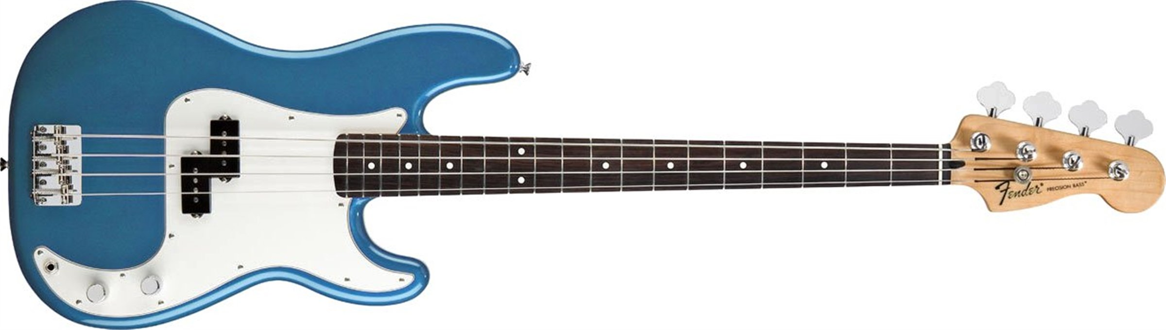 Fender Standard Precision Electric Bass Guitar - Rosewood Fingerboard, Lake Placid Blue
