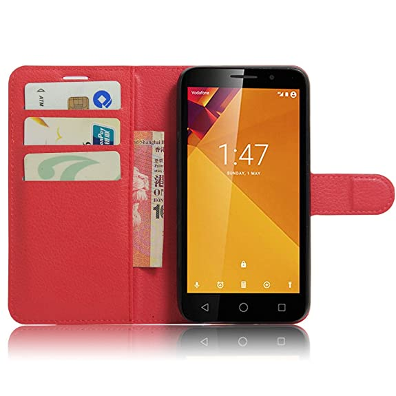 Vodafone Smart Turbo 7 VFD500 Case, DISLAND(TM) Flip PU Leather Card Slot