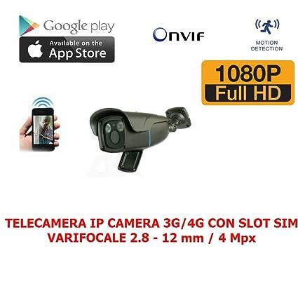 Cámara IP CAMERA 3G/4 G VARIFOCAL 2. 8-12 mm 4 Mpx