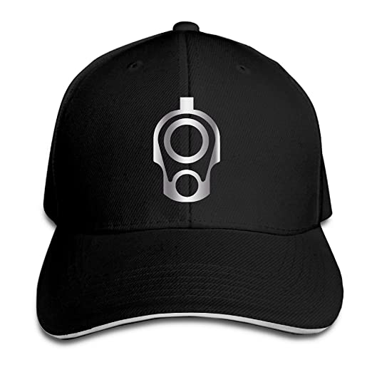 d7e49c77 KMRR 1911 .45 Barrel Platinum Style Flex Baseball Cap Black