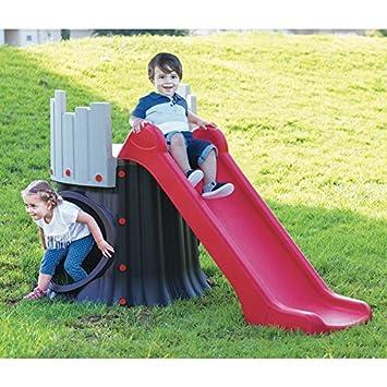 Starplay Kinder Baumhaus Mit Rutsche Kinderrutsche Gartenrutsche