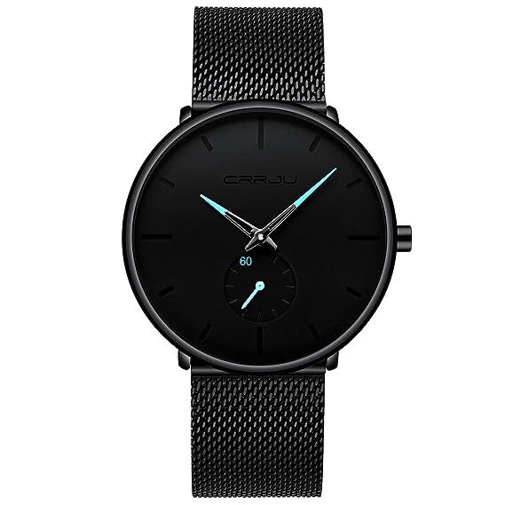 4102a8a00ea9 Dayllon Relojes De Cuarzo para Hombres