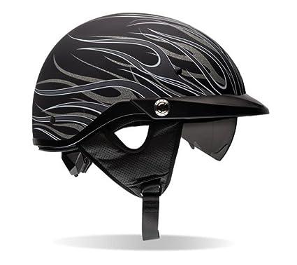 Bell Pit Boss Open Face Motorcycle Helmet (Matte Titanium, X-Small/Small
