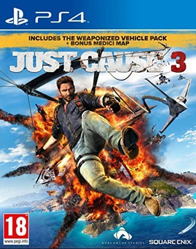 Just Cause 3 with Guide to Medici (Exclusive to Amazon.co.uk)(PS4 ...