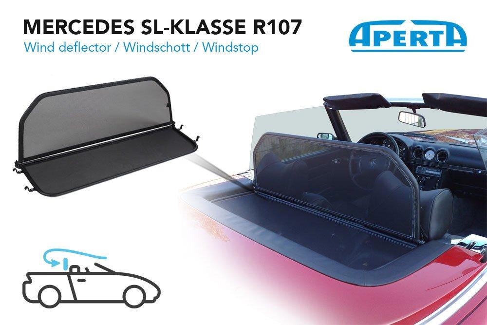 Mercedes-Benz SL-Class R107 Wind Deflector Blue 1971-1989