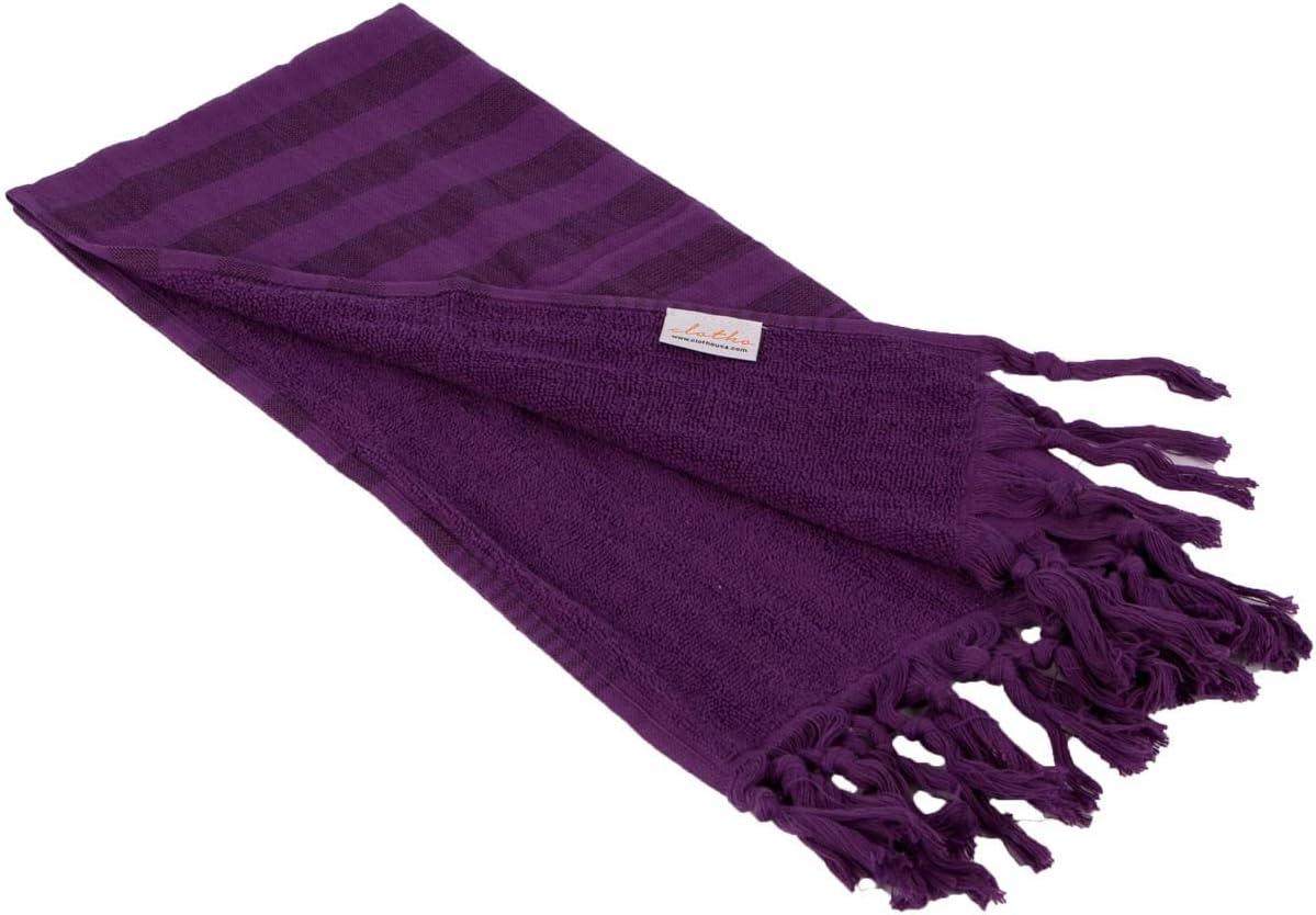 Turkish Hand Towel Set of 4-20 x 40 inches Variety 100/% Cotton Peshtemal