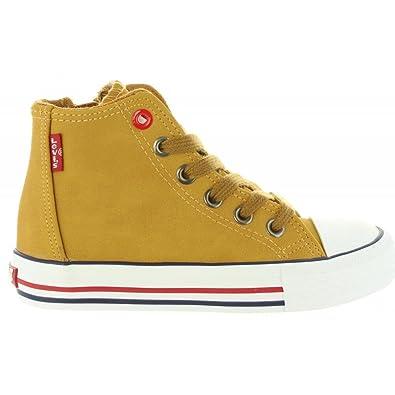 Sneaker für Junge und Mädchen und Damen LEVIS VTRU0020S TRUCKER HI 2153 LT CAMEL Schuhgröße 29 Levi's 2018 Unisex eWn2iKVoS