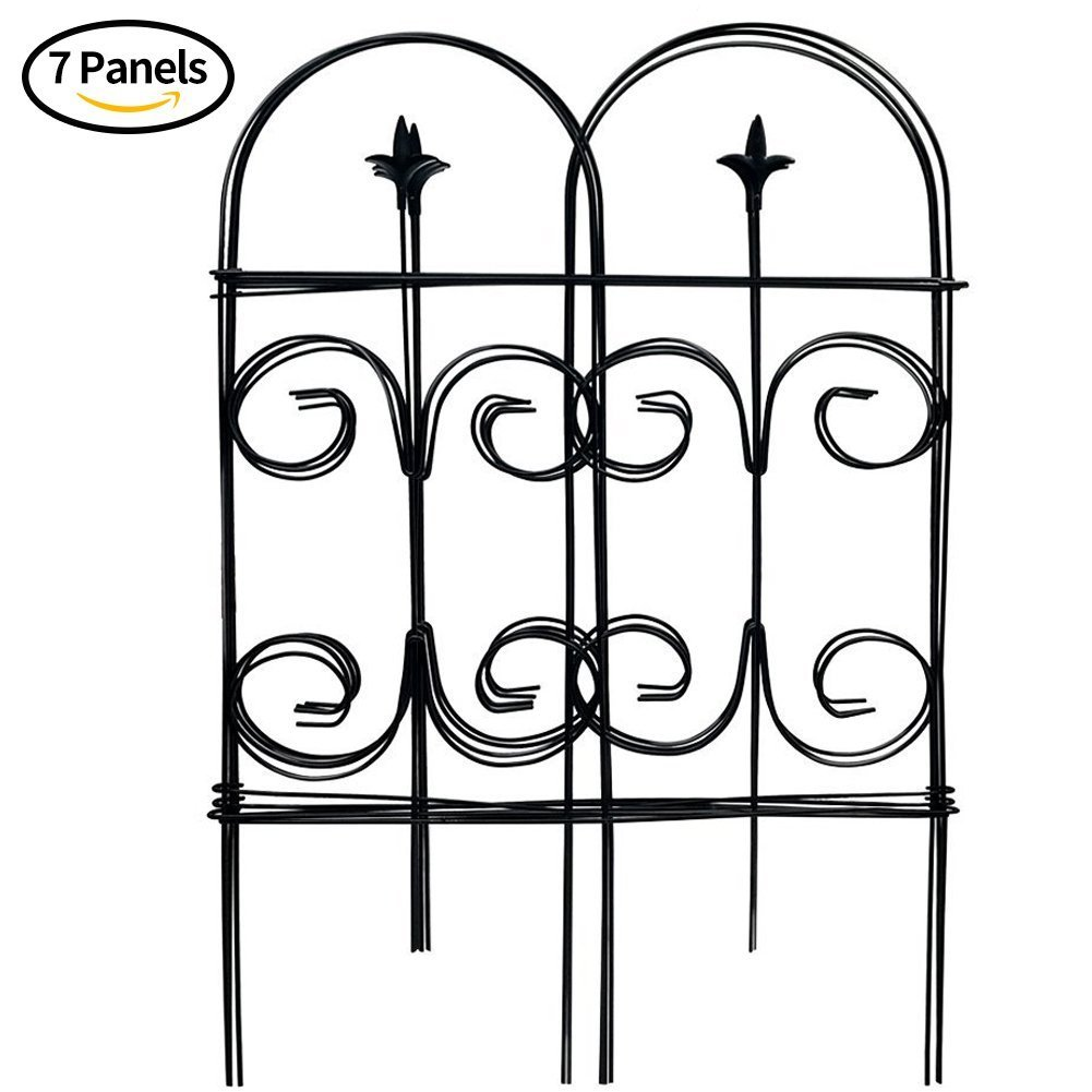 Amazon.com : Amagabeli Decorative Garden Fence 32in x 12ft Fencing ...