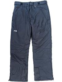 Alpine Ascentials Men's Classic Snow Pant, Black, Large