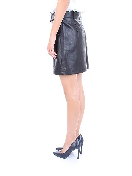 MOLLY BRACKEN EL255A19 Falda Mujer Negro L: Amazon.es: Ropa y ...