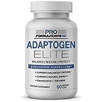 Adaptogen Elite – Synergistic Adaptogen Blend – 60 vcaps – Supports Balanced Cortisol...