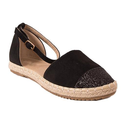 Primtex Alpargata Mujer, Negro (Negro), 37: Amazon.es: Zapatos y complementos