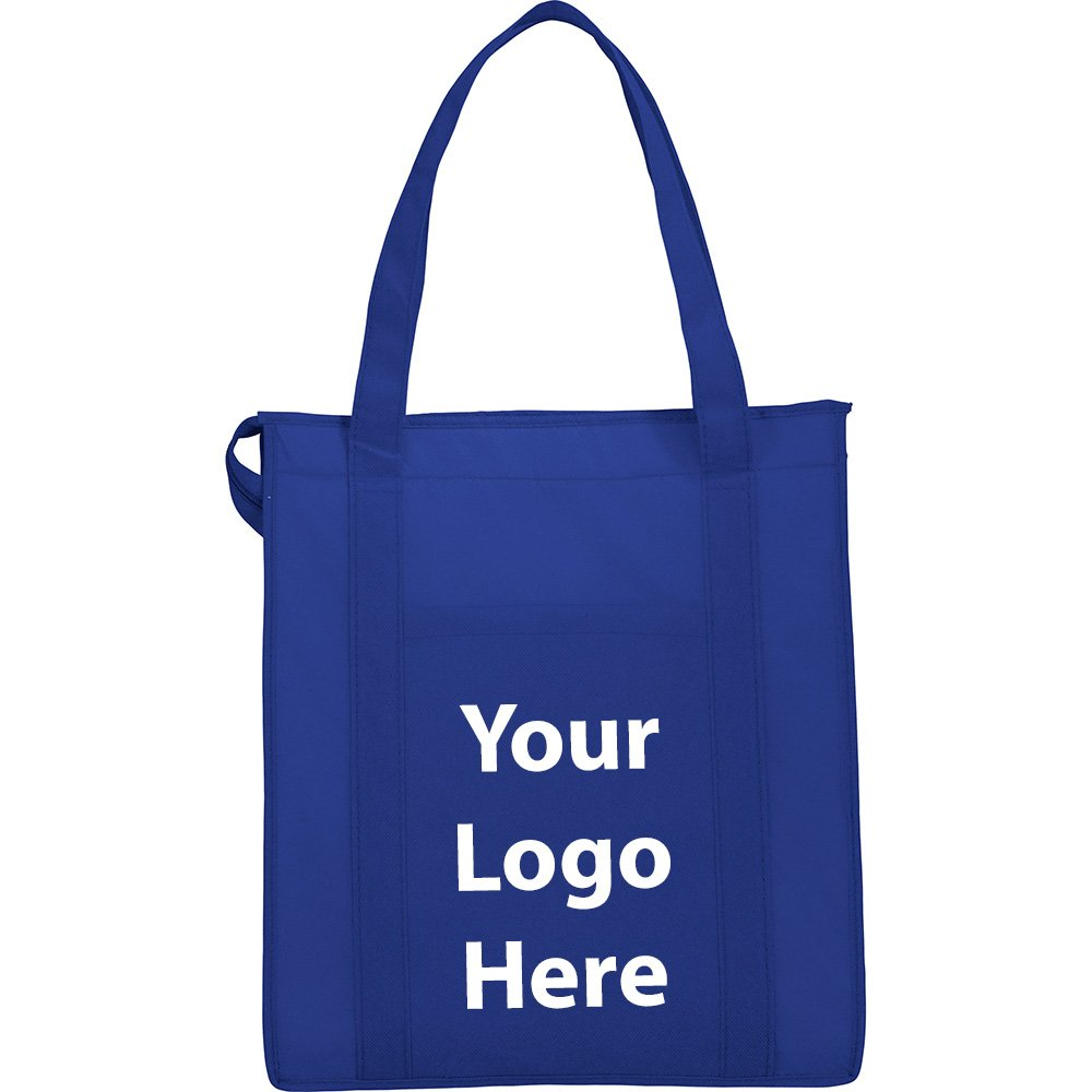 Hercules Insulated Grocery Tote - 100 Quantity - $3.35 Each - PROMOTIONAL PRODUCT / BULK / BRANDED with YOUR LOGO / CUSTOMIZED