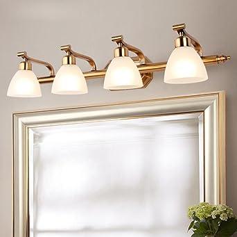 Luces LED Espejo, Espejo Luz Frontal Iluminación de Maquillaje Baño Imagen Luz Lámpara de Pared