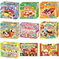 Kracie Popin Cookin 9 Item Bundle with Sushi, Hamburger, Bento, Takoyaki, Cake Shop and More from Kracie