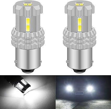 KaTur BAU15S 7507 1156PY PY21W Bombillas LED de Alta Potencia ...