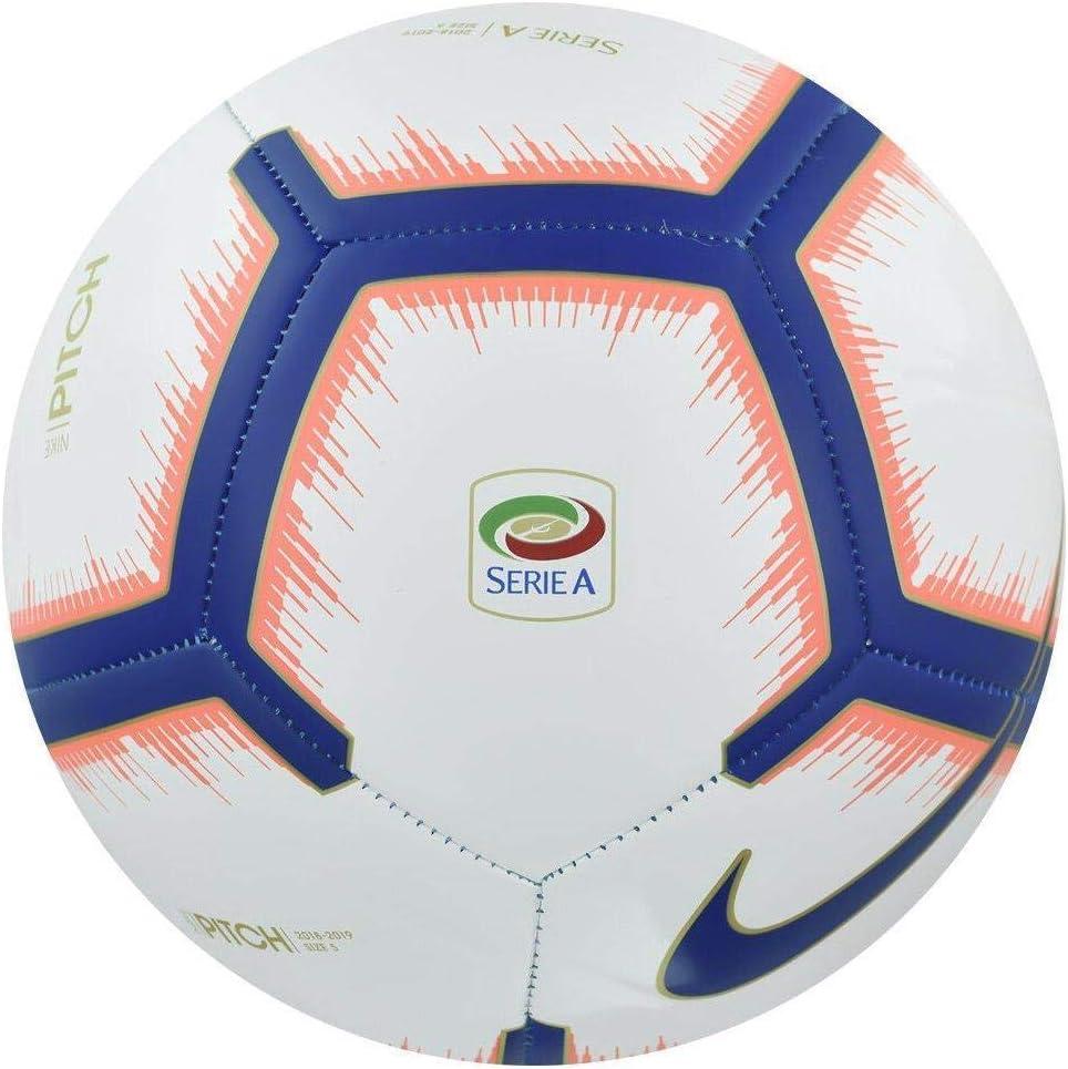 Nike Serie a Pitch (2018/2019) balón de fútbol Unisex, White ...