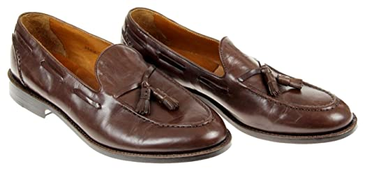 Mens Ludlow Tassel Loafers Size 11.5 Style B8425 Brown New