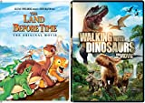 Land Before Time & Walking with Dinosaurs Movie Set DVD Animated Dino Fun Pack Films