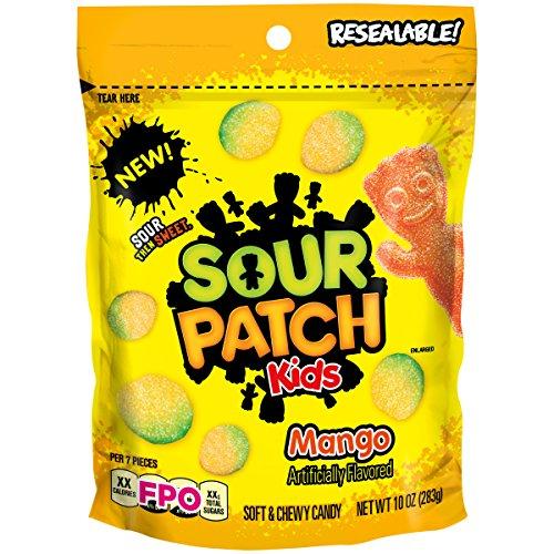 Sour Patch Kids Mango Fat Free Candy, 10 oz