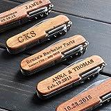 Personalized Pocket Knife, Custom Knife, Custom Multi-tool Knives, Engraved Names, Groomsmen Gift, Gift for Him Review
