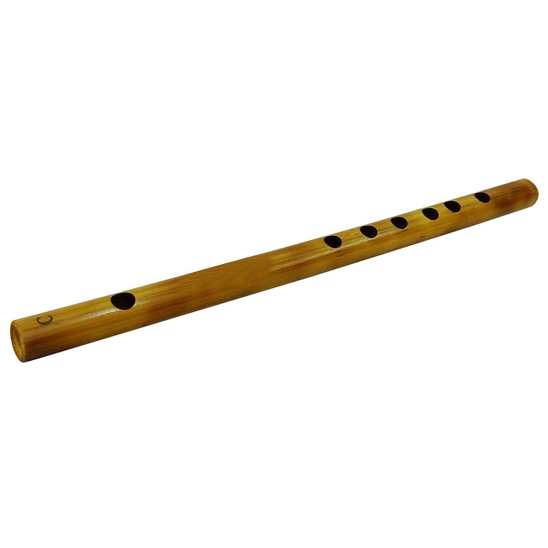 Traditional Black Wooden Flute Handmade Bamboo Bansuri Musical Instrument D/écor